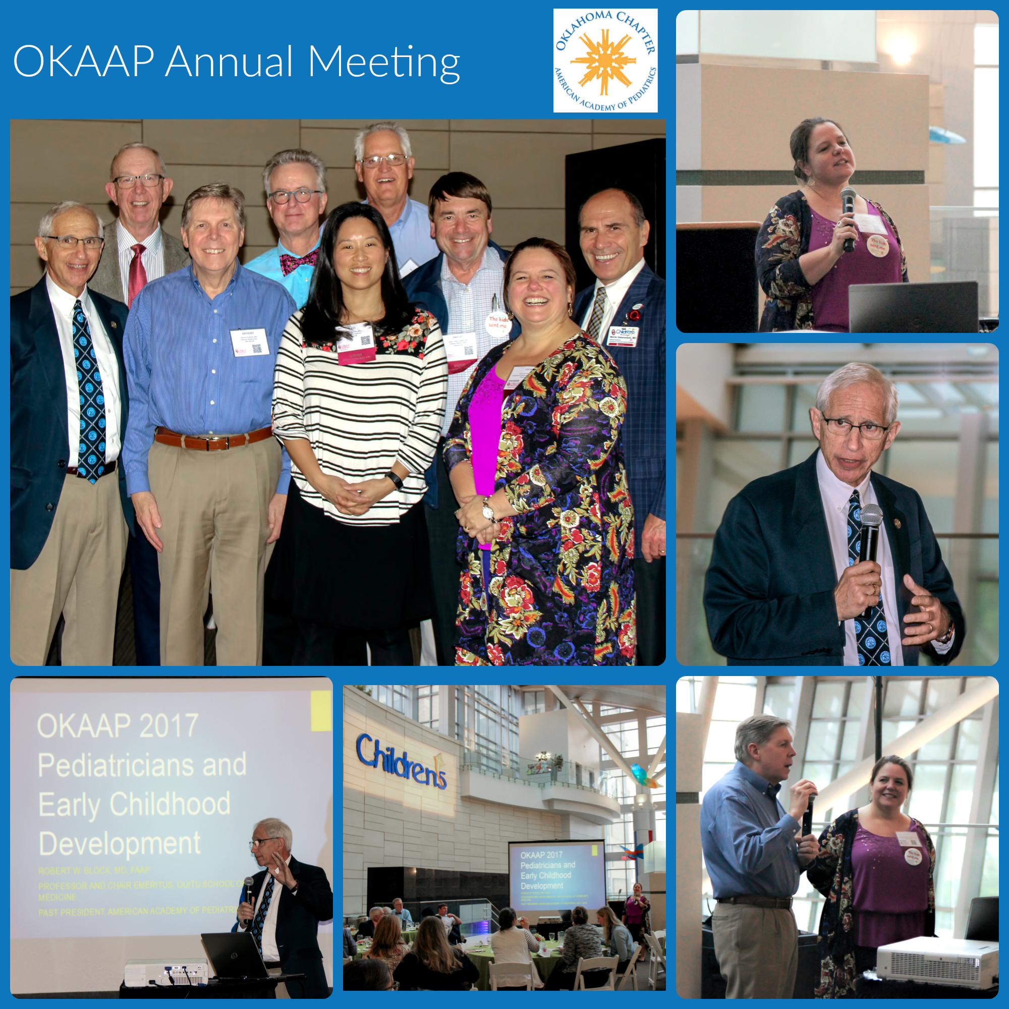 OKAAP Annual Meeting Collage